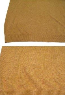 """画像5: """"St.JOHNS BAY"""" Light Weight V-Neck Cotton Knit BROWN size L (表記 L) (5)"""