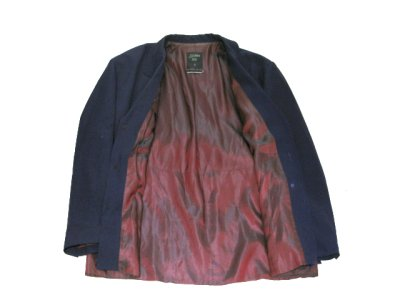 """画像2: """"Jean Paul GAULTIER"""" Design Tailored Jacket -made in ITALY- NAVY size L (表記 50)"""