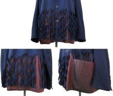"""画像4: """"Jean Paul GAULTIER"""" Design Tailored Jacket -made in ITALY- NAVY size L (表記 50) (4)"""