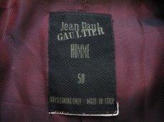 """画像3: """"Jean Paul GAULTIER"""" Design Tailored Jacket -made in ITALY- NAVY size L (表記 50) (3)"""