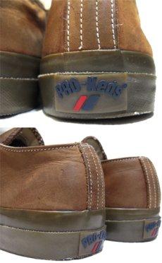 画像4: Pro-Keds Low-Cut Leather Sneaker BROWN size 10 (28 cm) (4)