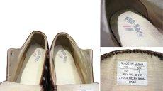 画像3: Pro-Keds Low-Cut Leather Sneaker BROWN size 10 (28 cm) (3)