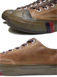 画像5: Pro-Keds Low-Cut Leather Sneaker BROWN size 10 (28 cm) (5)