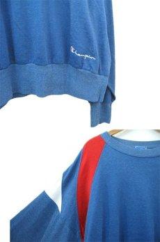 画像3: 1990's Champion L/S Jersey Shirts -made in USA- Blue / Red / White size M - L (表記 L) (3)