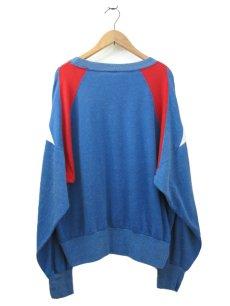 画像2: 1990's Champion L/S Jersey Shirts -made in USA- Blue / Red / White size M - L (表記 L) (2)