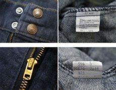 画像4: 1970-80's Levi's Vat-Dye Denim Bush Pants -made in U.S.A- size w 31 inch (表記 w31 x L34) (4)