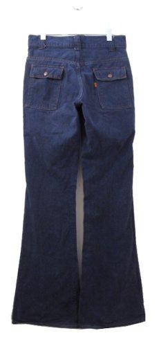 画像2: 1970-80's Levi's Vat-Dye Denim Bush Pants -made in U.S.A- size w 31 inch (表記 w31 x L34) (2)