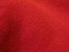 """画像6: 1980's~ """"Pringle"""" Lambswool Crew Neck Sweater -made in SCOTLAND- RED size XL (表記 不明) (6)"""