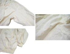 """画像4: """"Boomerang"""" Nep Cotton Cardigan Dead Stock one-washed NATURAL size XL~ (表記 L) (4)"""