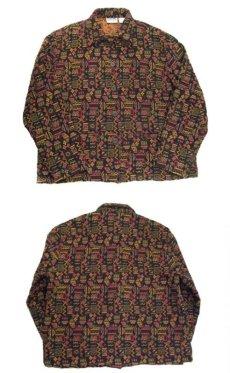 """画像4: 1980's~ """"CHICO'S Design"""" Design  Native Jacket Multi Color size L (表記 2) (4)"""
