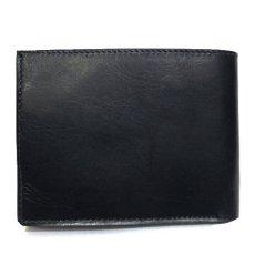 """画像2: """"JUTTA NEUMANN"""" Leather Wallet with Change Purse  color : Black / Sky Blue 二つ折り財布 (2)"""