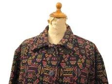 """画像3: 1980's~ """"CHICO'S Design"""" Design  Native Jacket Multi Color size L (表記 2) (3)"""