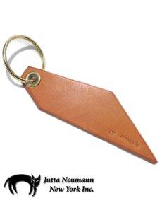 """画像1: C) """"JUTTA NEUMANN"""" Leather Key Holder  color : TAN (1)"""