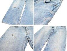 画像9: 1980's Levi Strauss & Co. Lot 701 Student FIt Denim Pants -made in U.S.A- Blue Denim size w 31 inch (表記 32 x 32)  (9)