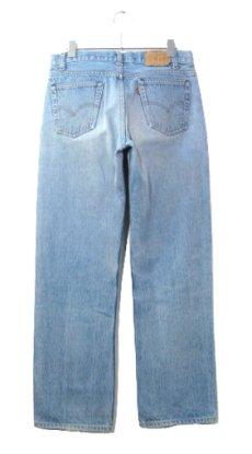 画像2: 1980's Levi Strauss & Co. Lot 701 Student FIt Denim Pants -made in U.S.A- Blue Denim size w 31 inch (表記 32 x 32)  (2)