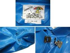 """画像4: 1980's """"WIPPETTE"""" Rain Coat BLUE size Free (表記 ONE SIZE) (4)"""