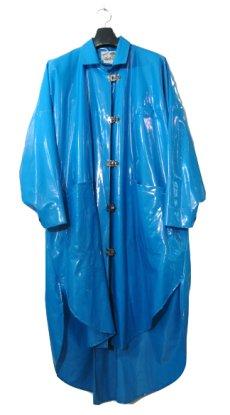 """画像1: 1980's """"WIPPETTE"""" Rain Coat BLUE size Free (表記 ONE SIZE) (1)"""