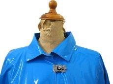 """画像3: 1980's """"WIPPETTE"""" Rain Coat BLUE size Free (表記 ONE SIZE) (3)"""
