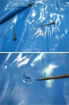 """画像7: 1980's """"WIPPETTE"""" Rain Coat BLUE size Free (表記 ONE SIZE) (7)"""