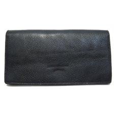 """画像2: """"JUTTA NEUMANN"""" Leather Wallet """"the Waiter's Wallet""""  color : Black / Lime Green 長財布 (2)"""