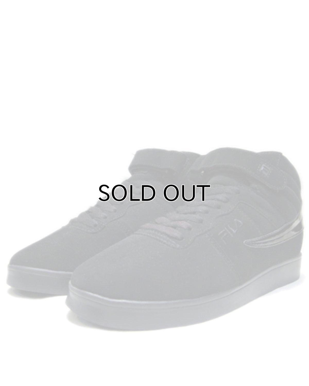 """画像1: NEW """"FILA"""" Synthetic Upper Hi-Cut Shoes Black size 9.5 (27.5 cm) (1)"""