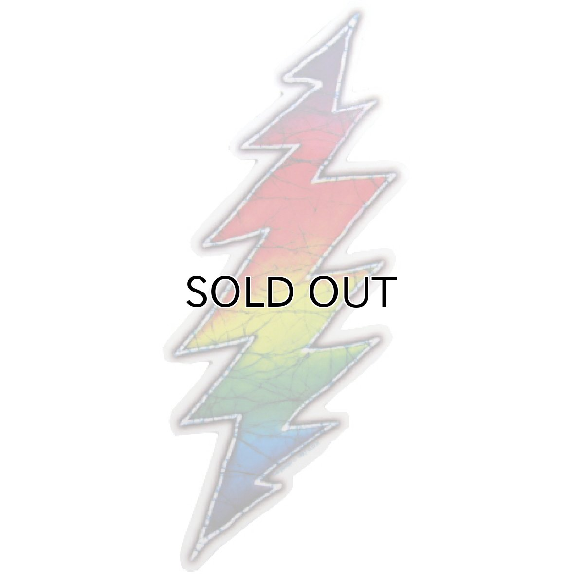"画像1: Grateful Dead ""Lightning Bolt"" Stickers (1)"