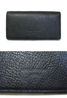 """画像2: """"JUTTA NEUMANN"""" Leather Wallet """"the Waiter's Wallet""""  color : Black / Emerald 長財布 (2)"""