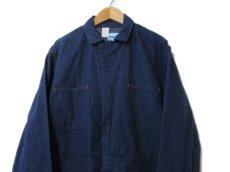 """画像3: 1970's """"Wrangler"""" Blue Denim All in One Dead Stock one-washed Blue Denim  size 40R (3)"""