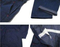 """画像6: 1970's """"Wrangler"""" Blue Denim All in One Dead Stock one-washed Blue Denim  size 40R (6)"""
