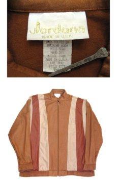 "画像3: 1980's ""Jordana"" Zip Up Design Jacket -made in USA- BROWN系 size M (表記 S) (3)"