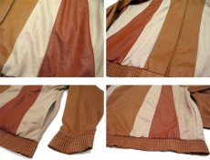 "画像4: 1980's ""Jordana"" Zip Up Design Jacket -made in USA- BROWN系 size M (表記 S) (4)"