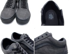 "画像4: NEW ""VANS""  OLD SCHOOL Black Denim Sneaker Grey / Black size 12 (4)"