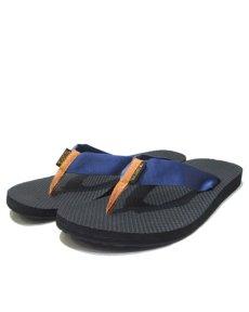 "画像1: NEW ""TEVA"" Beach Sandal Dark Blue / Brown Yellow size 10 (1)"