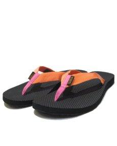 "画像1: NEW ""TEVA"" Beach Sandal Melon / Pink size w9  (1)"