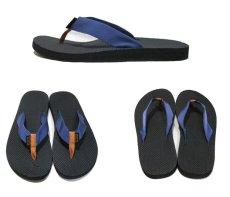 "画像2: NEW ""TEVA"" Beach Sandal Dark Blue / Brown Yellow size 10 (2)"