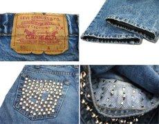 画像3: 1990's Levi Strauss & Co. Lot 505 Denim Pants with Studs Blue Denim size w 31 inch (表記 32 x 32) (3)
