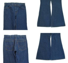 画像3: 1980's Levi Strauss & Co. Lot 684 BIg Bell Denim Pants Blue Denim size w 32.5 inch (表記 33 x 30) (3)