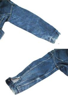 画像7: 1960's Levi's 557XX (3rd) Guaranteed Denim Jacket Indigo Blue size L (表記 44) (7)