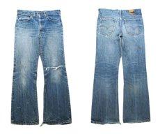"画像3: 1970's Levi Strauss & Co. Lot 517 ""Single Stitch"" Denim Pants Indigo Denim size w 31 inch (表記 不明) (3)"