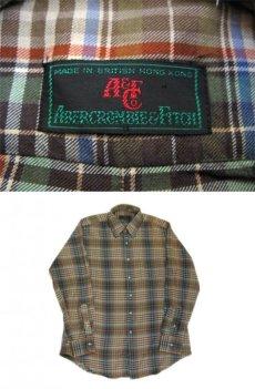 画像3: 1980's ABERCROMBIE & FITCH Check Pattern L/S Shirts BROWN サイズ L (表記 L) (3)