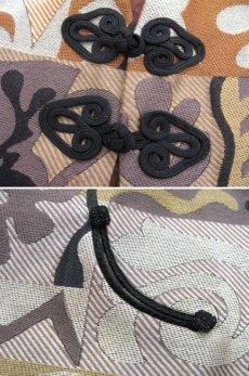 画像5: MAX & MABEL Design Vest (総柄) Brown - Beige size L (5)