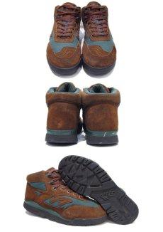 """画像2: HI-TEC """"Mt. DIABLO"""" Mountain Sneaker Brown / Green size 9 (27 cm) (2)"""