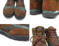 """画像4: HI-TEC """"Mt. DIABLO"""" Mountain Sneaker Brown / Green size 9 (27 cm) (4)"""