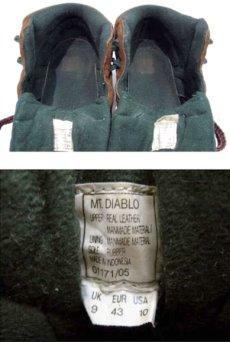 """画像3: HI-TEC """"Mt. DIABLO"""" Mountain Sneaker Brown / Green size 9 (27 cm) (3)"""