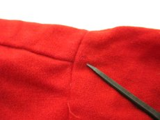 "画像7: 1950's ""Sportsman by CAL-MADE"" Two-tone Wool Shirts Red / C.Grey size L (表記 L) (7)"