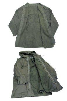 画像5: 1980's French Military M-64 Parka Coat OLIVE size L  (表記 92L) (5)