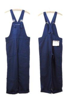 """画像3: 1950-60's French """"Le SANS PAREIL"""" Moleskin Worker Overall Dead Stock  BLUE size S - M (表記 42) (3)"""