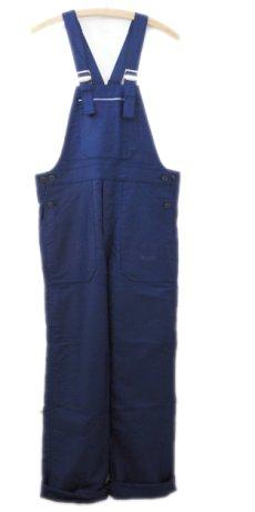 """画像1: 1950-60's French """"Le SANS PAREIL"""" Moleskin Worker Overall Dead Stock  BLUE size S - M (表記 42) (1)"""
