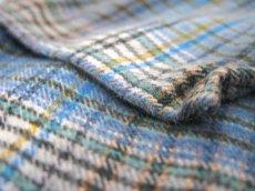 画像7: OLD French Cotton Pullover Long Shirts BLUE系 size L (7)