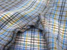 画像6: OLD French Cotton Pullover Long Shirts BLUE系 size L (6)